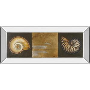 """Seashells I"" By Patricia Pinto Mirror Framed Print Wall Art"