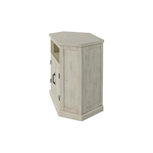 Rustic Corner-All White - Antique White