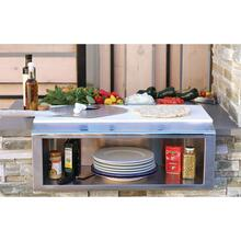 "See Details - 30"" PLATE & GARNISH RAIL W/ FOOD PANS"