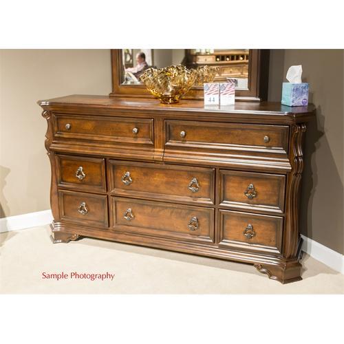 10 Drawer Double Dresser