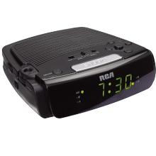 AM/FM dual wake clock radio