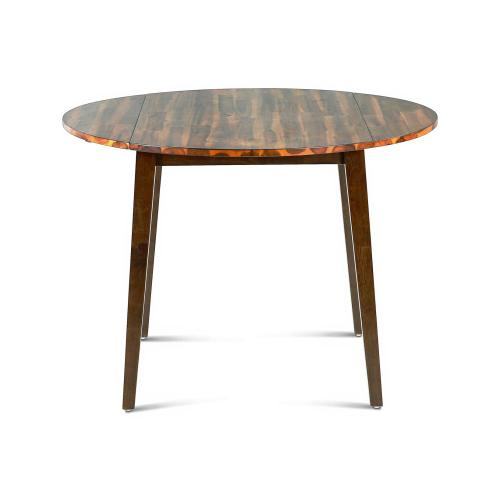 Gallery - Abaco 42 inch Round Double Drop-Leaf Table