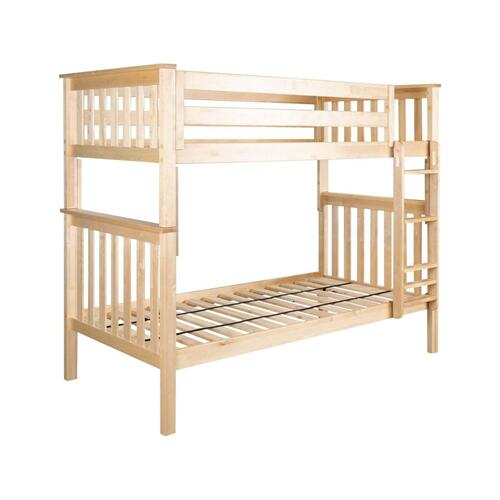 Jackpot Kids Furniture - Twin/Twin Bunk Bed Natural