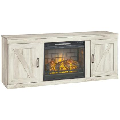 "Bellaby 63"" TV Stand With Electric Fireplace"