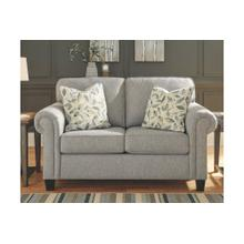 Alandari Loveseat Gray
