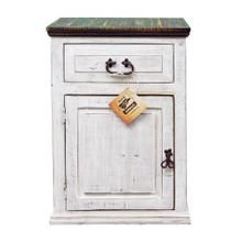 See Details - Weathered White Econo 1dwr 1dr