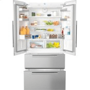 KFNF 9955 iDE - FrenchDoor Bottom-mount Units maximum convenience thanks to generous large capacity and ice maker.