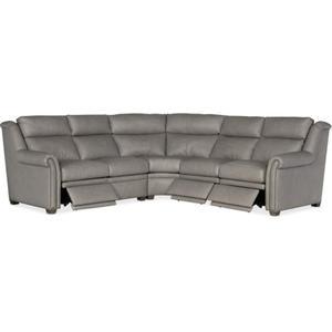 Bradington Young Robinson Armless Chair Full Recline w/ Articulating Headrest 206-33-2