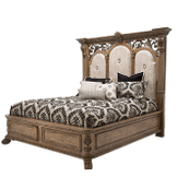 Cal King Bed (4 pc) Non Storage