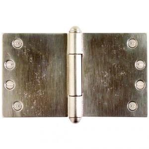 "Butt Hinge (wide throw) - 4"" x 7"" Silicon Bronze Brushed Product Image"