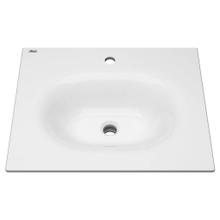 View Product - Studio S 24-inch Vanity Top Sink - Center Hole - White