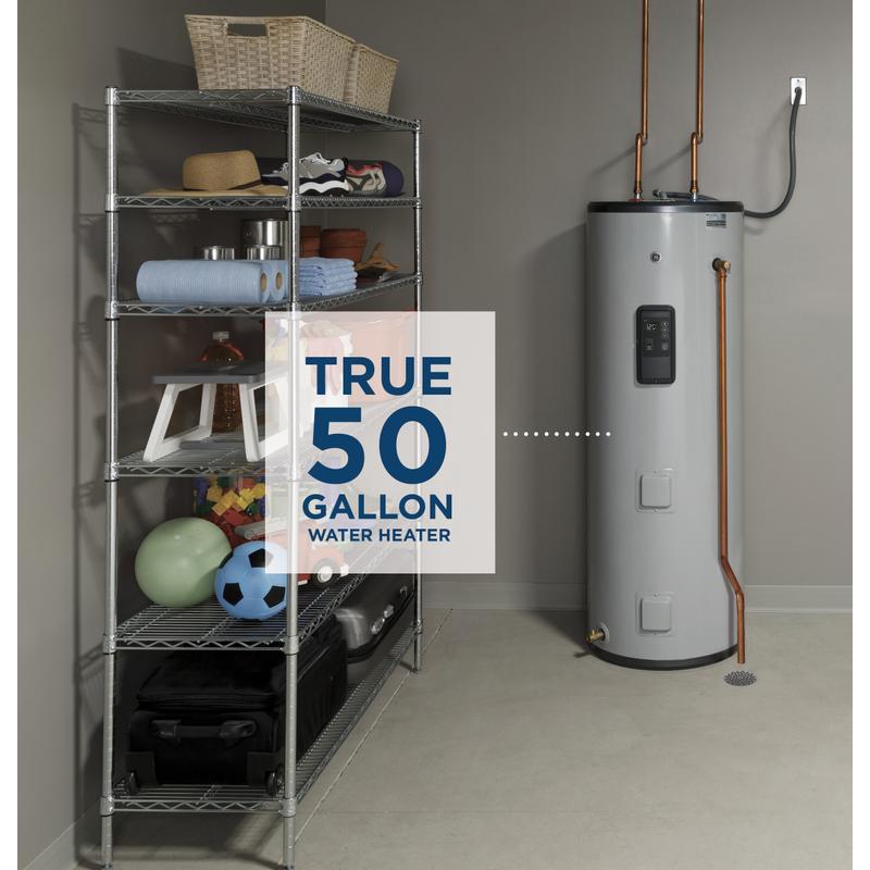 GE® Smart 50 Gallon Tall Electric Water Heater