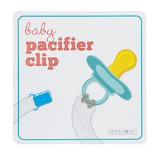 Baby Pacifier Clips Sign