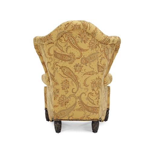 High Back Wing Chair - Opt1