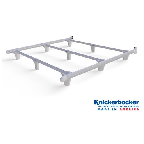 White Cal-King EmBrace Bed Frame