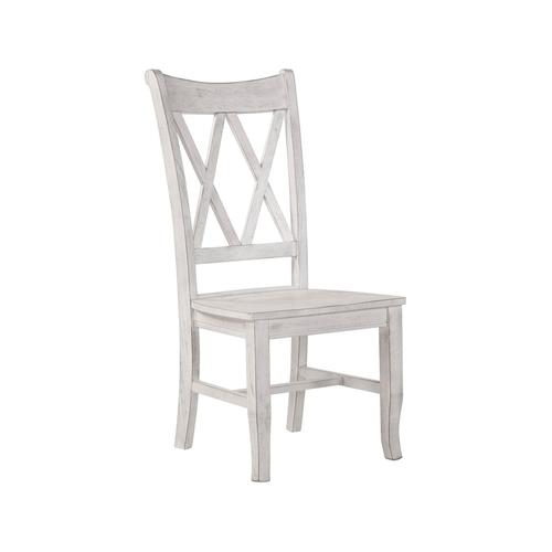 Double X Back Chair