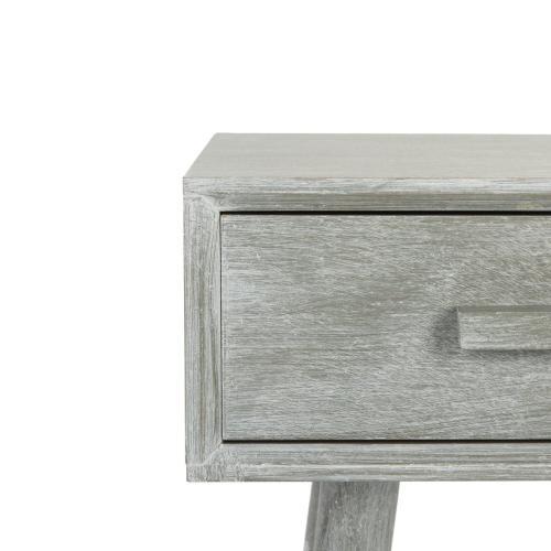 Safavieh - Dean 2 Drawer Console - Slate Grey