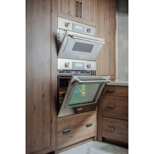 Thermador - Combination Speed Wall Oven 30'' Stainless Steel PODMC301W