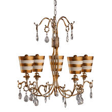 View Product - Tivoli Gold Chandelier