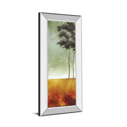 "Classy Art - ""Palms Right"" Mirror Framed Print Wall Art"