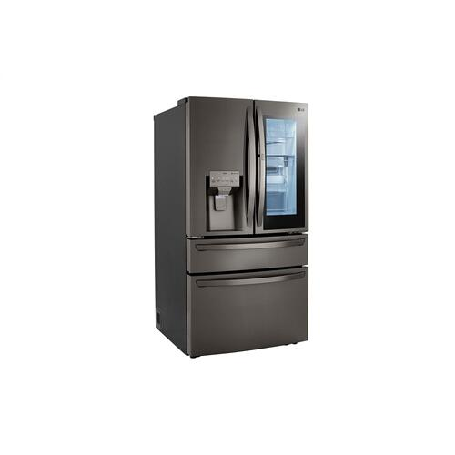 23 cu. ft. Smart wi-fi Enabled InstaView™ Door-in-Door® Counter-Depth Refrigerator with Craft Ice™ Maker
