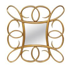 Rectangular Gold Mirror by Ultimate Accents