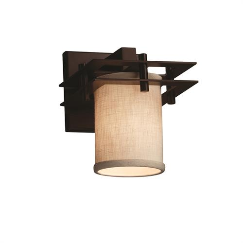 Metropolis 1-Light Wall Sconce (2 Flat Bars)