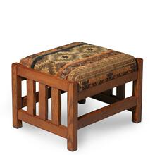 See Details - Morris Ottoman, Fabric Cushions