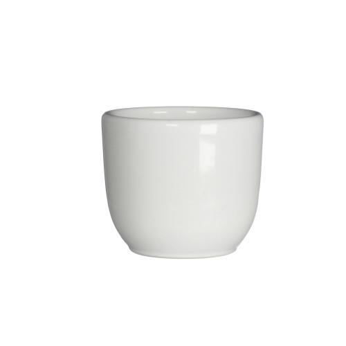 Tusca Round Planter Gloss White (min.25pcs)