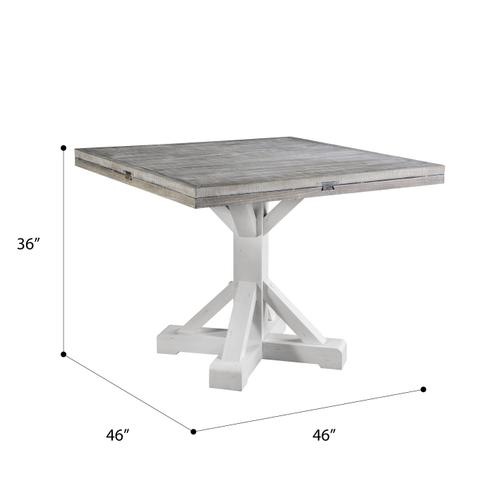 Emerald Home Furnishings - Round Dropleaf Gathering Height Dining Table