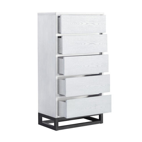 White Industrial Chest