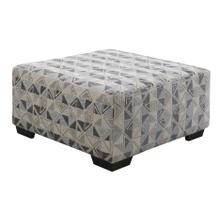 Berlin Small Square Ottoman, Graphic Gray U4551-22-05