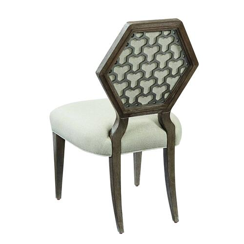 Geode Druzy Side Dining Chair