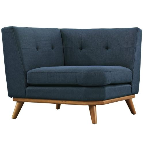Modway - Engage L-Shaped Sectional Sofa in Azure