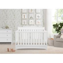 Emery 4-in-1 Crib - White (100)
