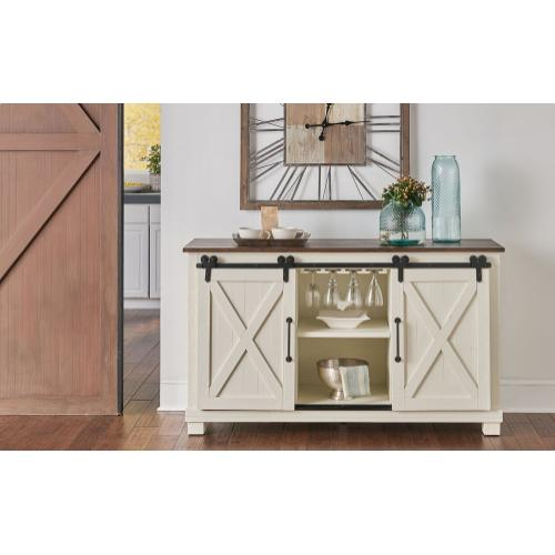 BARN DOOR SIDEBOARD