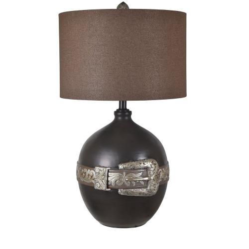 Crestview Collections - Buckle Table Lamp