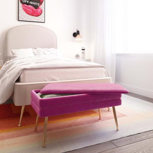 Tov Furniture - Ziva Plum Storage Bench