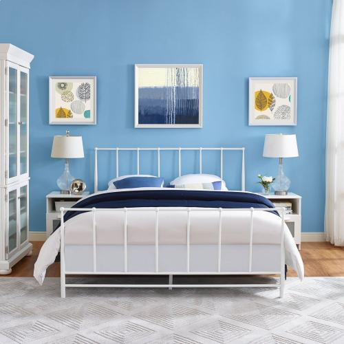 Modway - Estate Full Bed in White