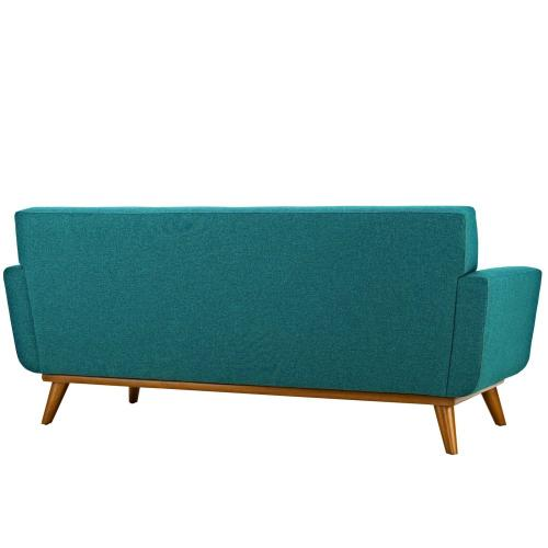 Modway - Engage Loveseat and Sofa Set of 2 in Teal