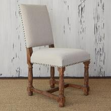View Product - Voranado Side Chair - Swag Flax