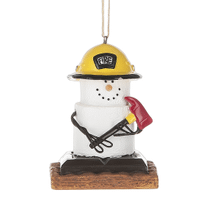 See Details - S'mores Fireman Ornament