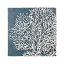 White Coral Print