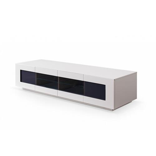 Modrest Frost Modern Small Grey TV Unit