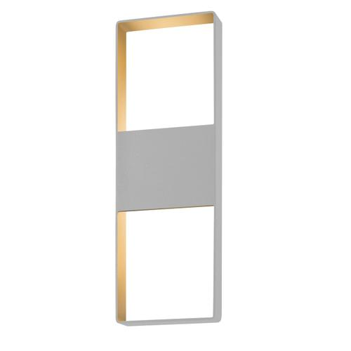 """Sonneman - A Way of Light - Light Frames Up/Down LED Sconce [Size=21"""", Color/Finish=Textured Gray]"""