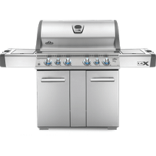 LEX 605 RSBI with Side Burner and Infrared Bottom & Rear Burners , Stainless Steel , Propane