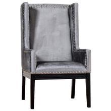 Product Image - Tribeca Grey Velvet Chair