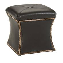 See Details - Hourglass Ottoman (Leather)