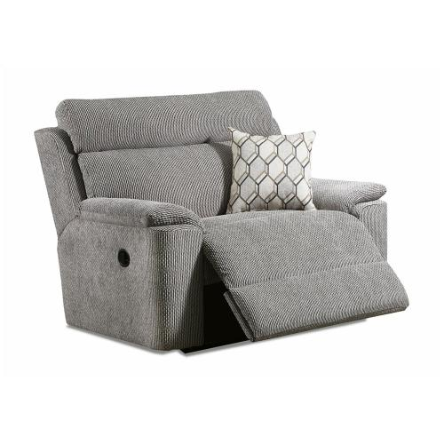 Lane Home Furnishings - Extrovert Silver Recliner (57004)