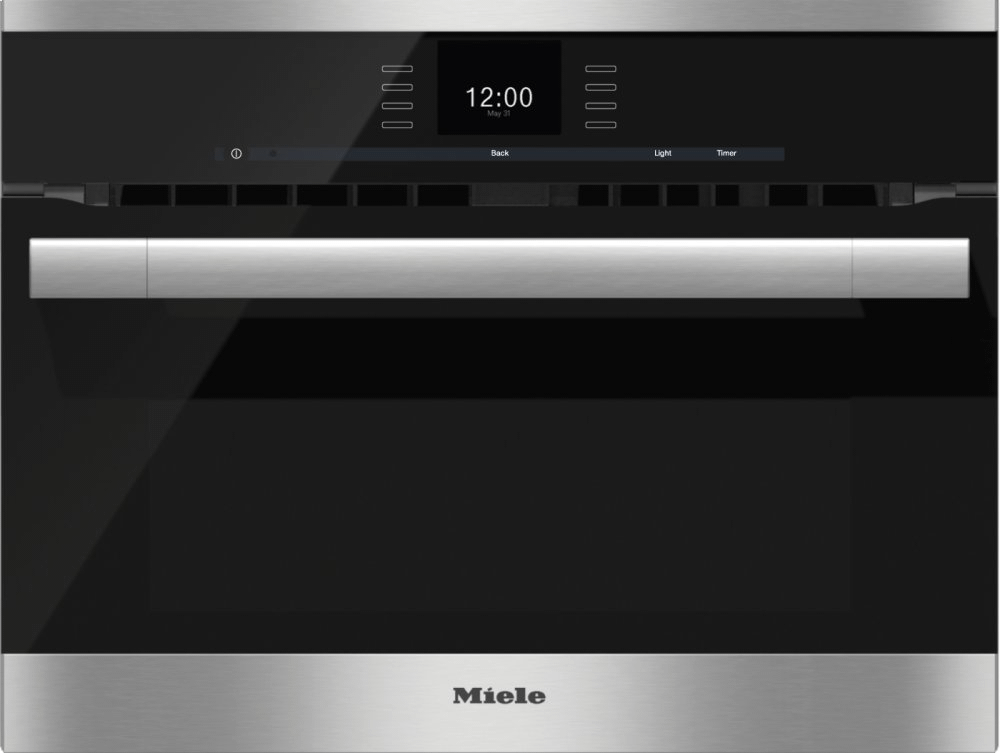 MieleH 6500 Bm - 24 Inch Speed Oven With Combi-Modes And Roast Probe For Precise-Temperature Cooking.